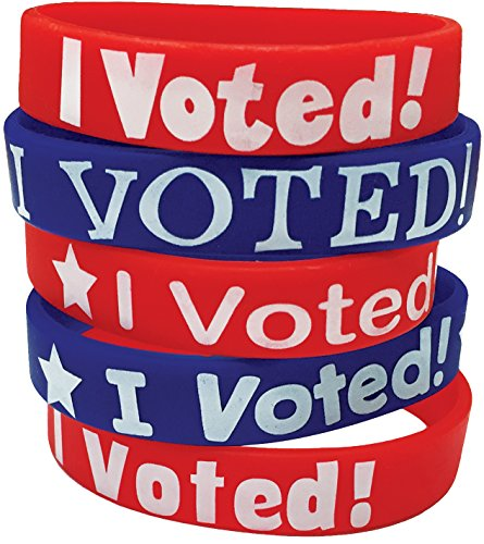 Teacher Created Resources I Voted! Wristbands (6576)