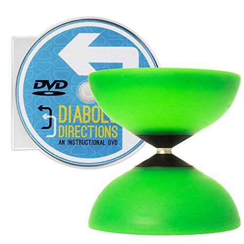 - Mr Babache Finesse G4 Green Diabolo & Diabolo Directions DVD Set