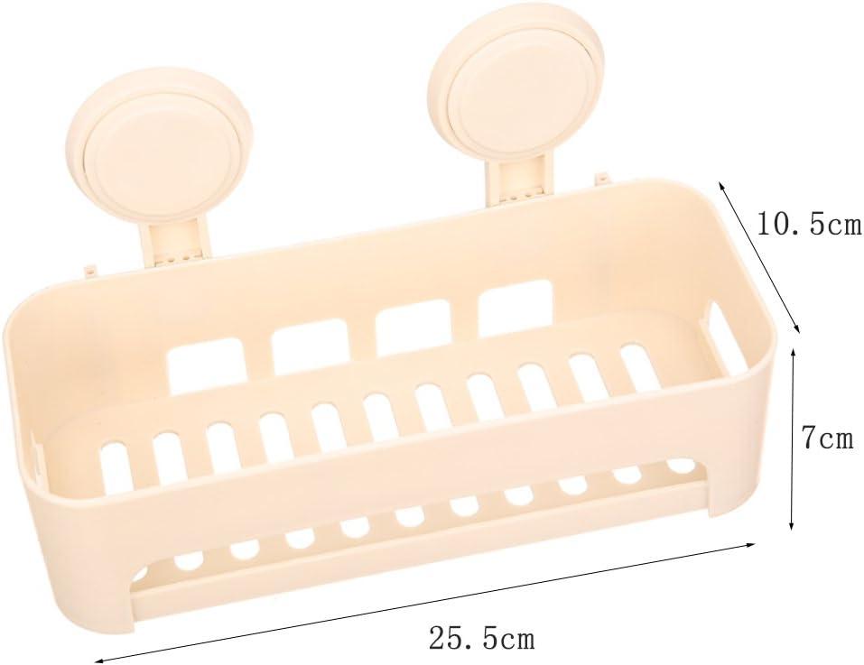 Ba/ño Racks Creativo Simple Moda Jab/ón Caja Racks De pl/ástico Ba/ño Racks No-Drilling Ducha Plataforma De Almacenamiento De La Cocina Estanter/ía De Una Capa Ba/ño Racks De Pared Montado Cuarto Ba/ño Estan