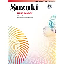 Suzuki Piano School, Vol 4: Book and CD