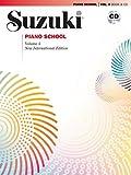 Azuma Suzuki Piano School Volume 4 New International Édition Book/CD +CD (Suzuki Method Core Materials)