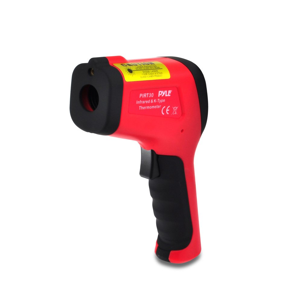 Pyle-Meters Meters PIRT30 High Temperature Infrared Thermometer with Type K Input