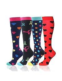 Compression Socks for Men Women - Best for Running, Sport, Nurse, Travel, Edema