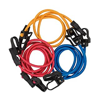 Cartrend 70165 Set de tensores de equipaje Pro, 6-piezas