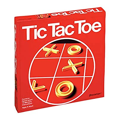 Pressman Tic Tac Toe - The Classic Game of X's and O's: Toys & Games