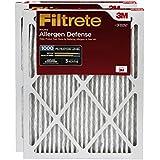Filtrete MPR 1000 16 x 25 x 1 Micro Allergen Defense AC Furnace Air Filter, 2-Pack