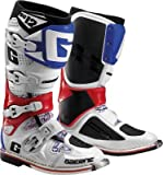 Gaerne SG-12 Boots, Distinct Name: Red/White/Blue, Gender: Mens/Unisex, Size: 10, Primary Color: White 2174-026-010 by Gaerne