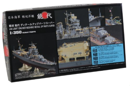 The Meg 1/350 light Noshiro Detail Up Parts Super (40085) (japan import) by HASEGAWA