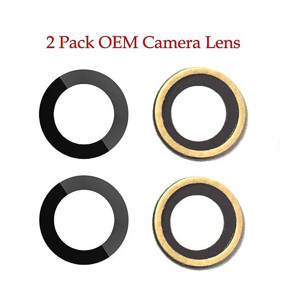 Amazon.com: Pieza de repuesto para lente de cámara iPhone 7 ...