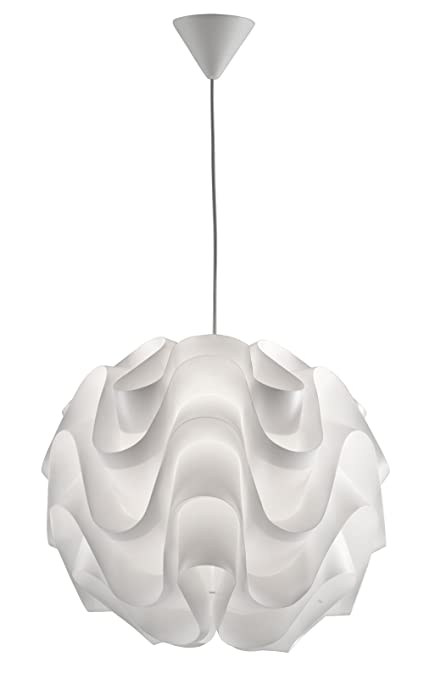 Adtwin Lámpara de techo E27, Blanco: Amazon.es: Iluminación