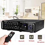 XFENGUS 110-230V 2000W 4-16 ohm 4ohm Setero Karaoke Home Bluetooth Amplifier Audio Support
