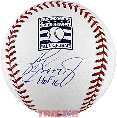 Ken Griffey Jr. Signed Autographed Hall of Fame Logo Baseball Inscribed HOF 16 TRISTAR COA