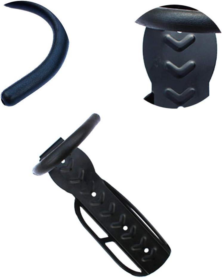 Colgador de Bici para Pared con Protecci/ón del Cuadro Soporta Hasta 30kg Metal Soporte de Pared para Bicicleta para Cuelga Bici Gancho para Colgar Bicicleta Soporte para Colgar Bicicleta Pared