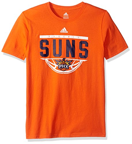 - NBA Youth 8-20 Phoenix Suns Balled Out Short Sleeve Tee-Texas Orange-L(14-16)