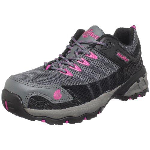 Nautilus 1750 Women's Comp Toe No Exposed Metal EH Athletic Shoe,grey,7.5 M US