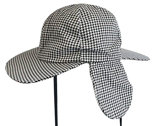 84dc87456d524 Sherlock Holmes Houndstooth Detective Hat With Costume Pipe   Magnifying  Glass