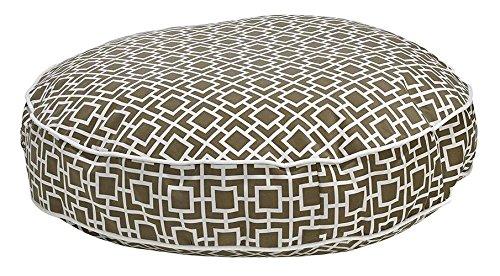 Round Dog Bed, Medium - 36 L x 36 W, Taupe