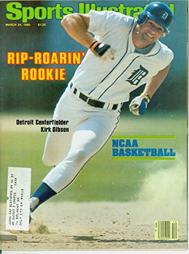 - 1980 Sports Illustrated March 24 Kirk Gibson : Rip Roaring Rookie