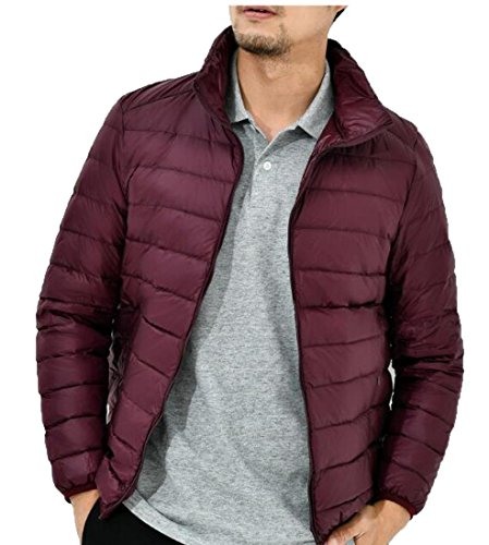 amp;S Wine Red amp;W Ultra Light Down M Packable Men's Warm Jackets Puffer vqxqP7d