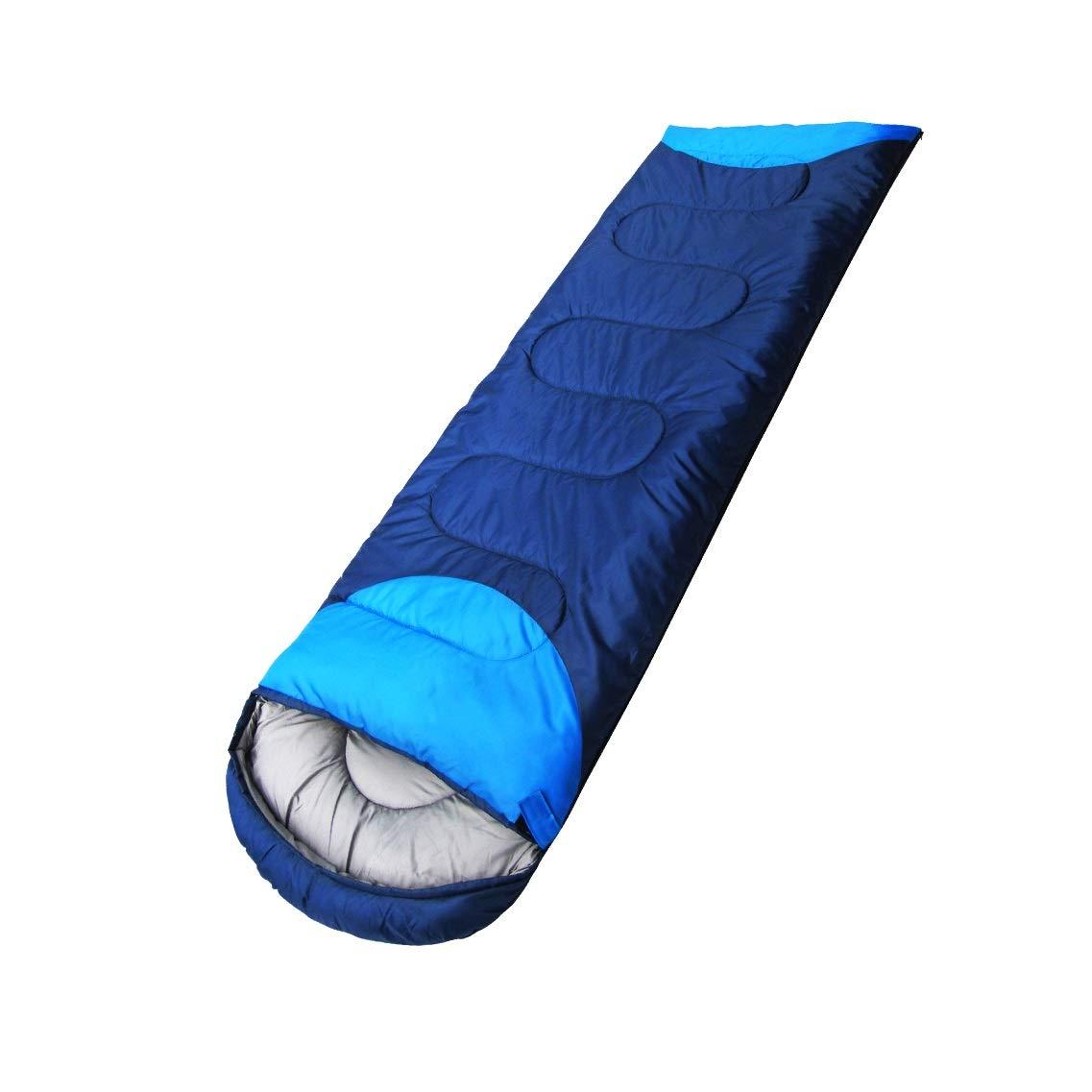 Dark bleu1.8kg HUACANG Sac De Couchage Adulte Extérieur Voyage De Printemps pour Hommes Et Femmes Sac De Couchage Simple Et Chaud d'hiver Design épissable (Taille   Dark bleu1.5kg)