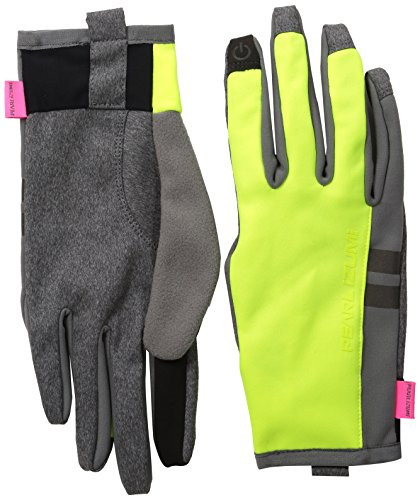 Pearl iZUMi Women's Escape Thermal Gloves, Screaming Yellow, Large