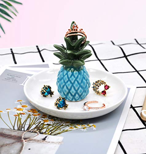- PUDDING CABIN Pineapple Ring Dish Personalized Jewelry Dish Wedding Ring Holder Tropical Wedding Favor Bridesmaids Gift Bridal Shower