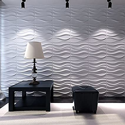 Panel Decorativo 3d Lake Para Paredes Interiores 100 Ecologico - Paneles-para-pared
