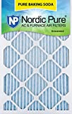 Nordic Pure 16x25x1PBS-3 Pure Baking Soda Air Filters (Quantity 3), 16'' x 25'' x 1''