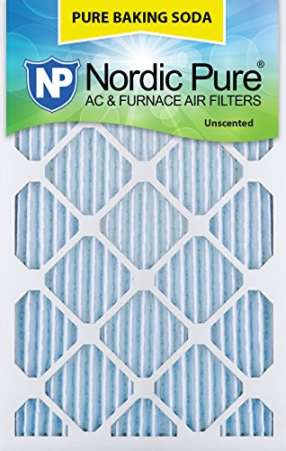 "Price comparison product image Nordic Pure 16x20x1PBS-3 Pure Baking Soda Air Filters (Quantity 3),  16"" x 20"" x 1"""
