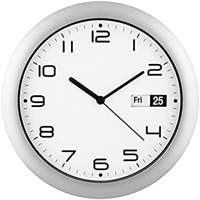Amazon Com Maple S 12 Inch Wall Clock Atomic Time Sync