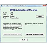 Adjustment Program / Resetter Multi PC Compatible Epson