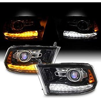 For DODGE Ram 1500 2002-2019 2Pcs LED Headlight Kit Super White Low Beam Bulb 6K