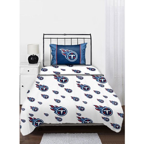 NFL Tennessee Titans Logo Twin Sheets Twin