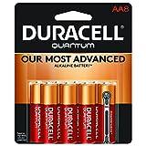 Duracell Quantum Alkaline AA Batteries, 8-Count