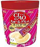 チャオ (CIAO) CIAOちゅーる グルメ まぐろ・かつおバラエティ 14g×60本
