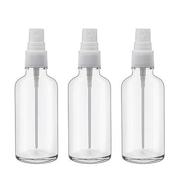 Amazon.com: Botellas de vidrio pulverizado.: Beauty