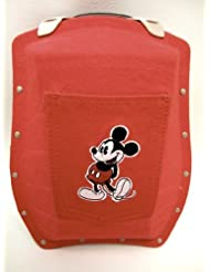 Boblbee Disney Mickey Mouse Hard Shell Backpack Scarabee Red