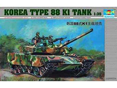 (Trumpeter 1/35 00343 Korea Type 88 K1 Tank)