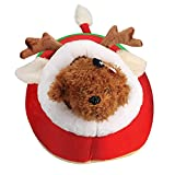 Cheap Pet Dog Bed, AMA(TM) Cute Christmas Red Reindeer Pet Puppy Cat Bed Doghouse Doggie Warm Bed House (Red)
