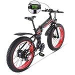 51KfqC6WH1L. SS150 Drohneks Ebike 1000W Bici da Spiaggia elettrica motoslitta aiutando Mountain Bike Bici Fuoristrada Roller Bike Fury…