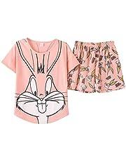 Short Pajamas_Cotton_Pink