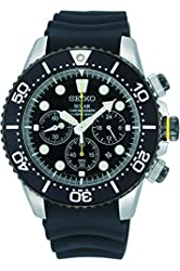Seiko SSC021P1 Men Chronograph,Solar Power,200M Water Resistant,Brand New,SSC021