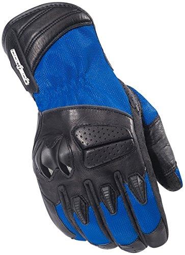 Cortech GX Air 3メンズメッシュストリートバイクオートバイ手袋 – ブルー 2X-Large 8322-0302-08-HH-FBA B008JQMPE6 2X-Large  2X-Large