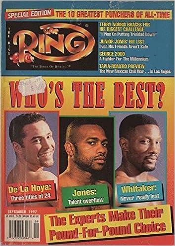The Ring 1997 September - De La Hoya + Jones + Whitaker: Amazon.com: Books