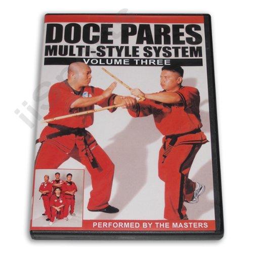 Doce Pares #3 Multi style Filipino Eskrima Escrima Kali Arnis DVD knife sticks martial arts