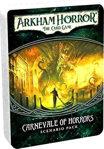 Carnevale of Horrors FANTASY FLIGHT GAMES FFGAHC10 Arkham Horror LCG