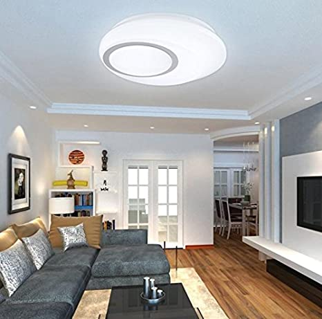 ZHANGYONG LED Plafón simple elegante creativa lámparas ...