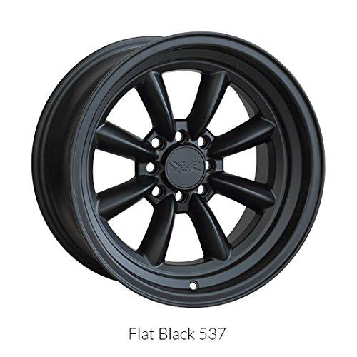 XXR Wheels 537 Black Wheel with Painted Finish (16x8