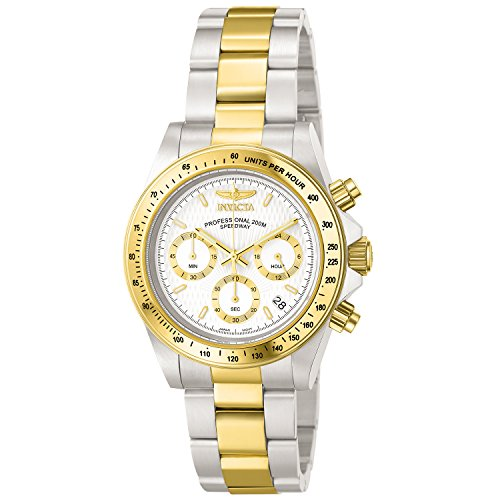 Chronograph Solid Wrist Watch - Invicta Men's 9212 Speedway Analog Japanese Quartz Chronograph Stainless Steel Watch