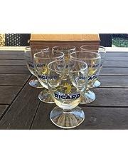 RICARD Lot de 6 verres ballon soleil nouveau modele neuf